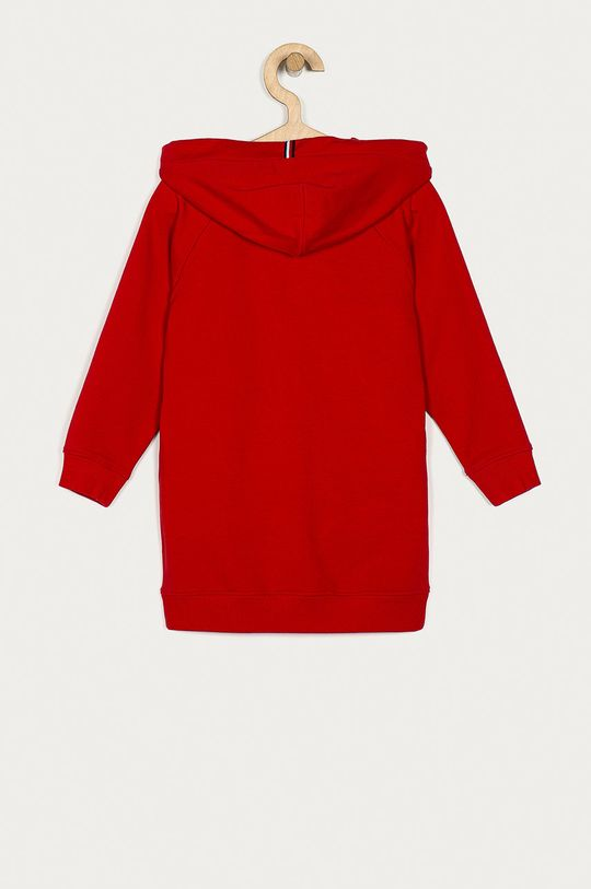Tommy Hilfiger - Dívčí šaty 116-176 cm  Hlavní materiál: 72% Bavlna, 6% Elastan, 22% Polyester Podšívka kapuce: 100% Bavlna Stahovák: 96% Bavlna, 4% Elastan