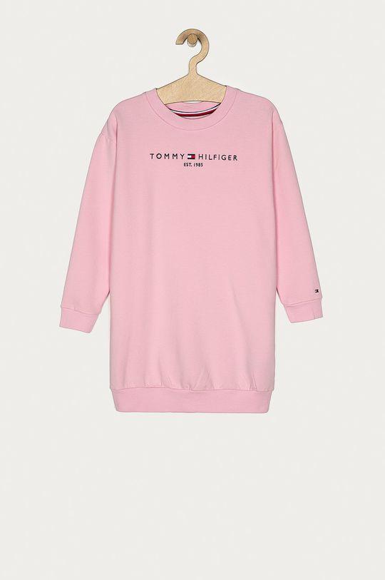 pastelově růžová Tommy Hilfiger - Dívčí šaty 116-176 cm Dívčí