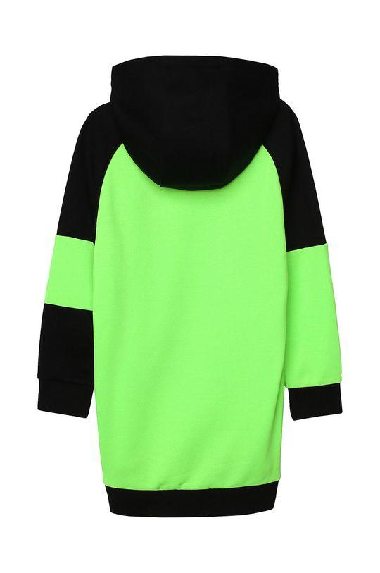 Dkny - Sukienka dziecięca 152-158 cm żółto - zielony