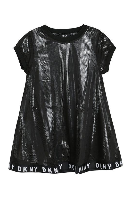čierna Dkny - Dievčenské šaty Dievčenský