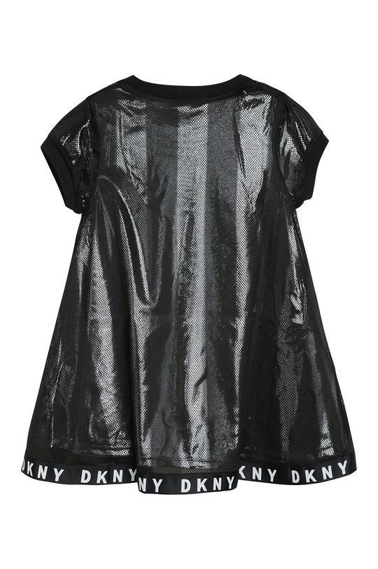 Dkny - Dievčenské šaty čierna