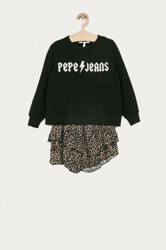 negru Pepe Jeans - Rochie fete Anita 128-180 cm De fete