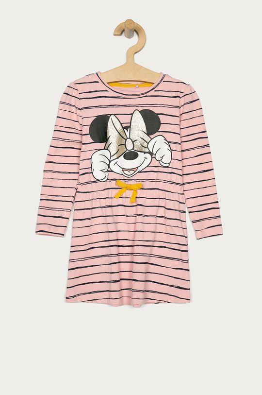 ružová Name it - Dievčenské šaty 92-116 cm Dievčenský