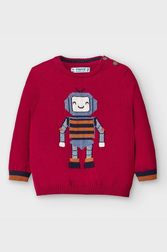 kasztanowy Mayoral - Sweter dziecięcy 68-98 cm Chłopięcy