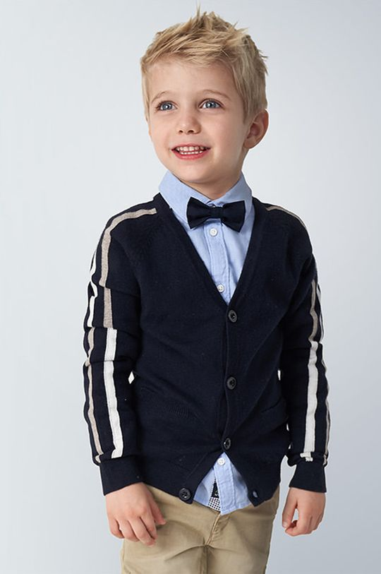 tmavomodrá Mayoral - Detský sveter 104-134 cm Chlapčenský