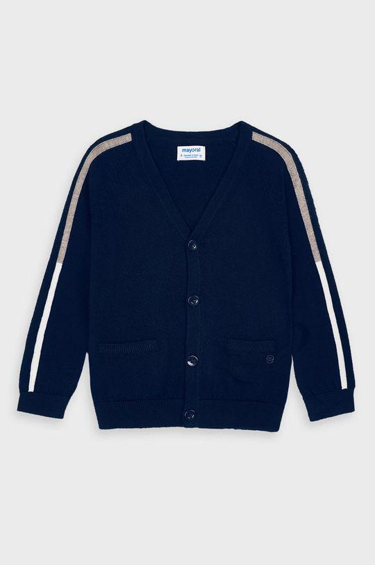 Mayoral - Detský sveter 104-134 cm tmavomodrá