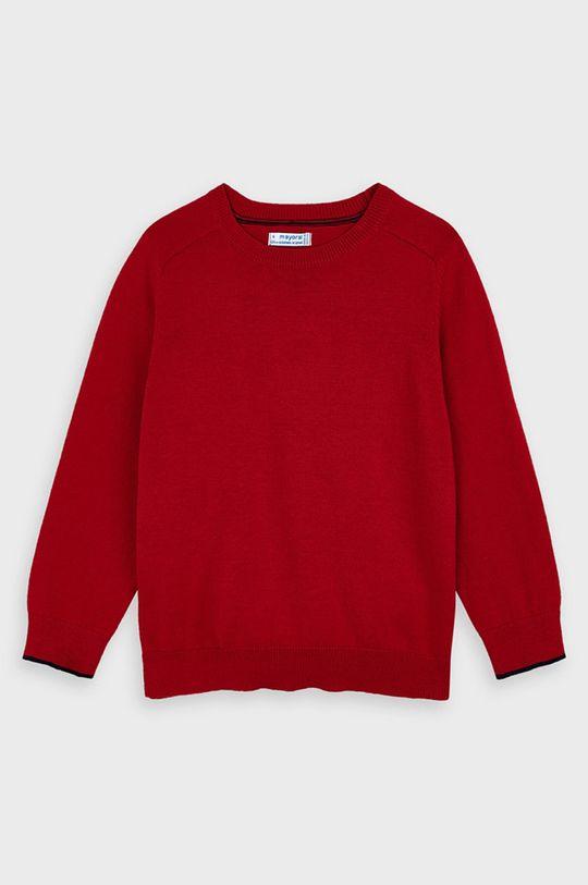 czerwony Mayoral - Sweter dziecięcy 92-134 cm Chłopięcy
