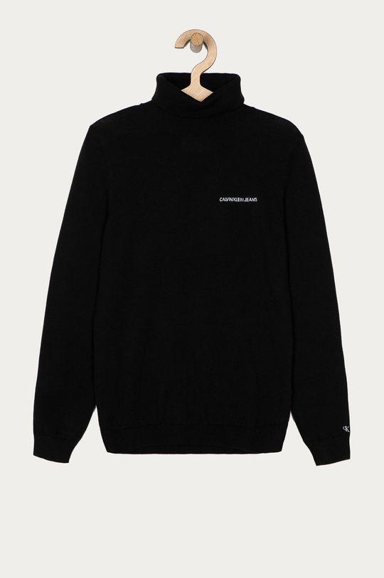 czarny Calvin Klein Jeans - Sweter dziecięcy 140-176 cm Chłopięcy