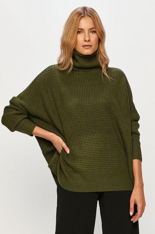 zelená Vero Moda - Sveter 10231495 Dámsky