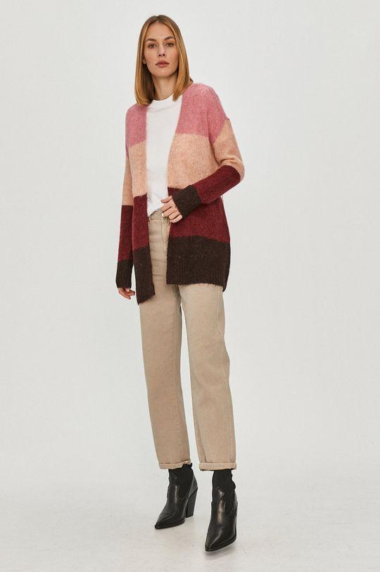Vero Moda - Kardigán ružová