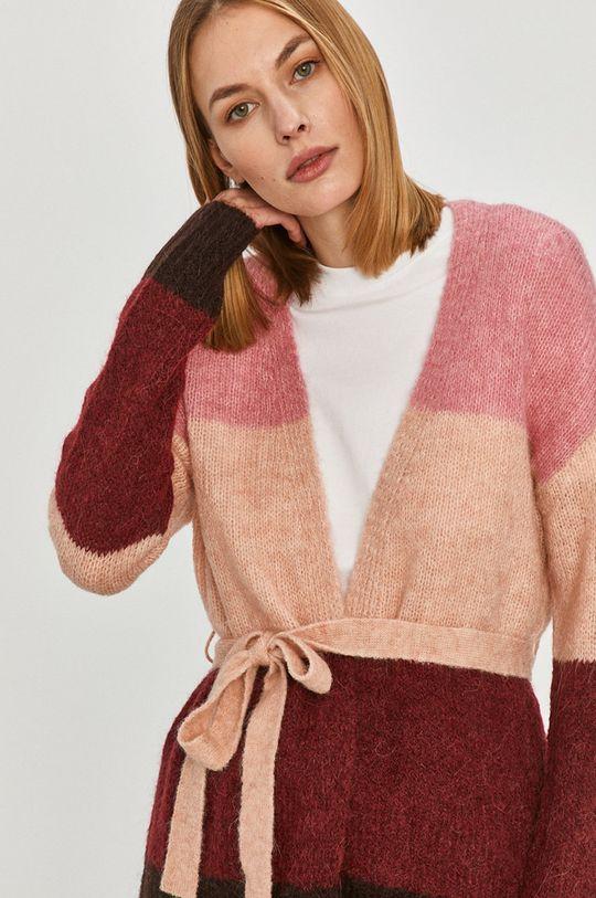 ružová Vero Moda - Kardigán