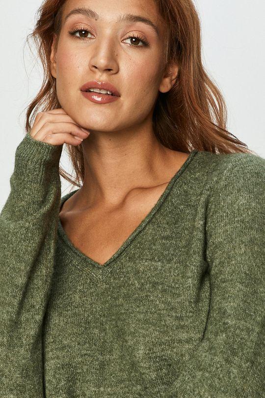 zielony Vero Moda - Sweter