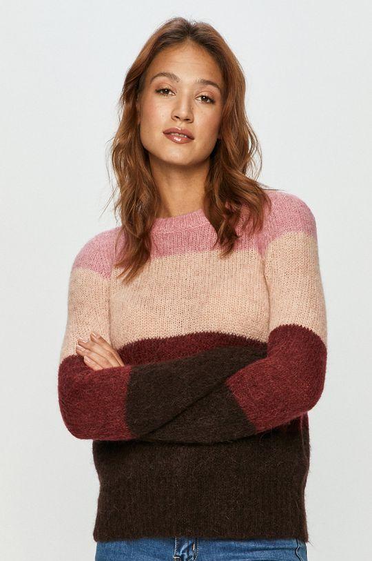 różowy Vero Moda - Sweter Damski
