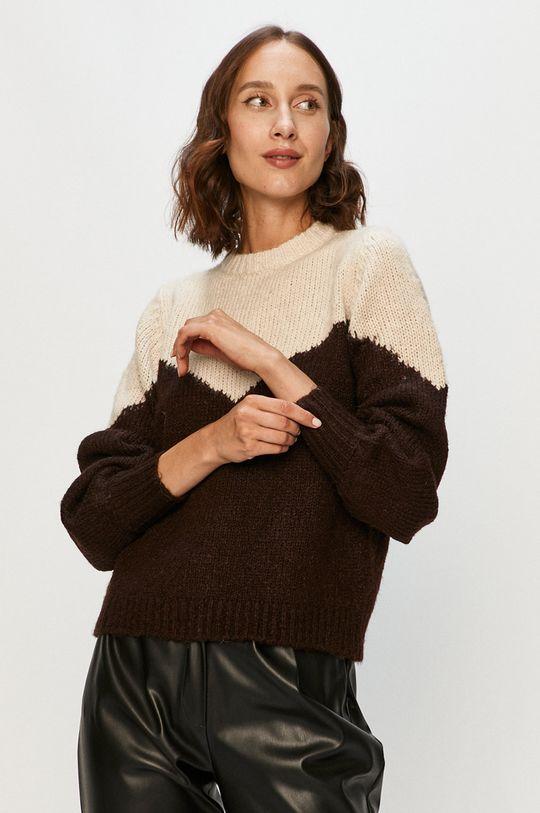 kremowy Vero Moda - Sweter Damski