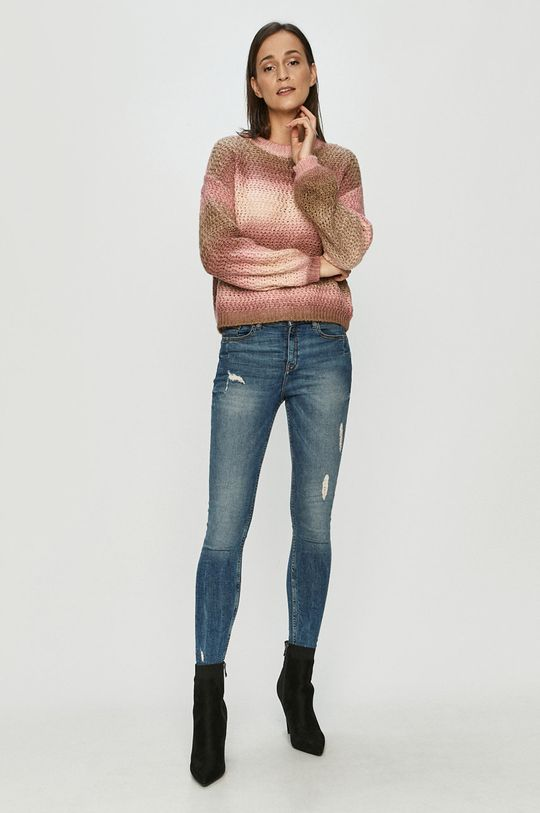 Vero Moda - Sweter różowy