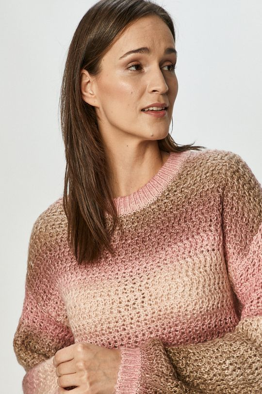 różowy Vero Moda - Sweter