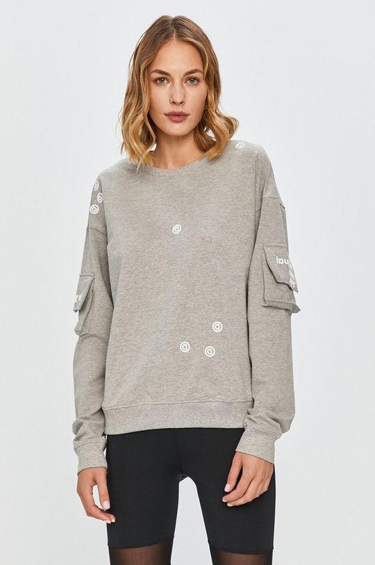 gri deschis Desigual Sport - Bluza De femei