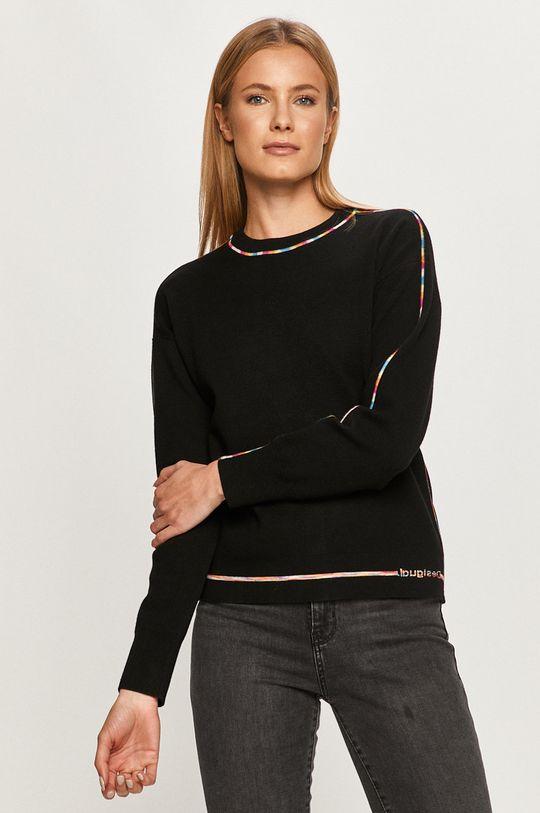 черен Desigual - Пуловер Жіночий