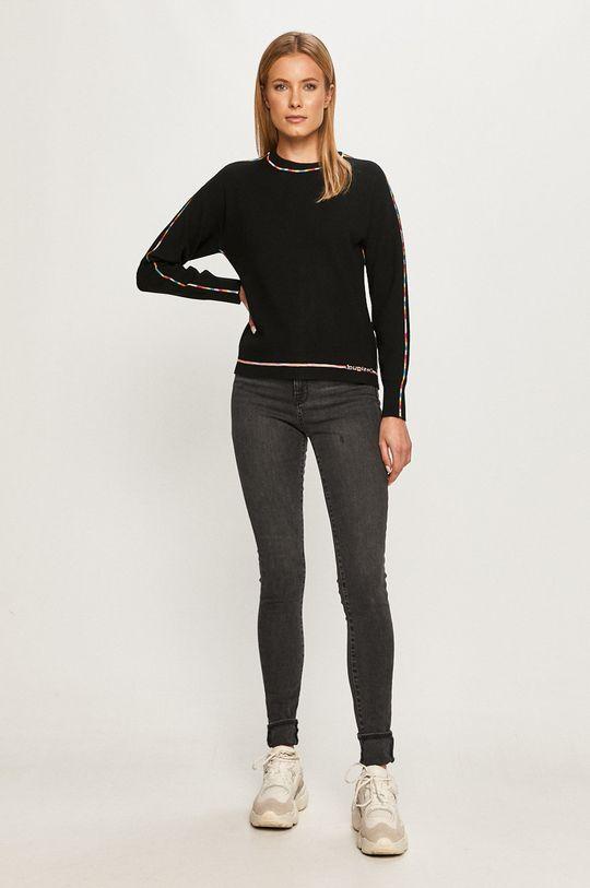 Desigual - Пуловер черен