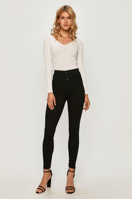 Guess Jeans - Sveter biela