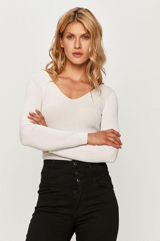 biela Guess Jeans - Sveter