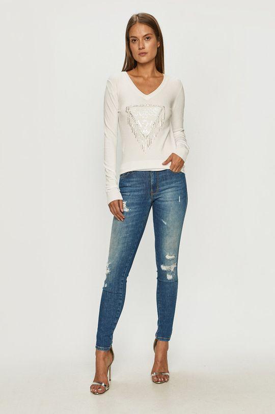 Guess Jeans - Свитер белый
