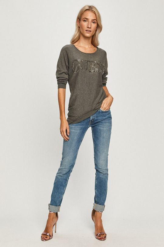Guess Jeans - Pulover gri