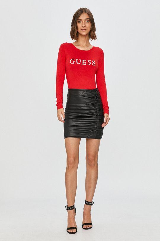Guess Jeans - Sveter červená