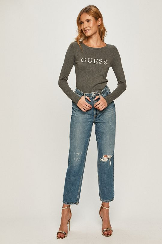 Guess Jeans - Sveter sivá