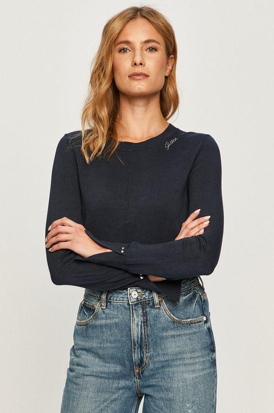 tmavomodrá Guess Jeans - Sveter Dámsky