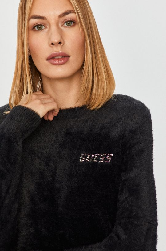 fekete Guess Jeans - Pulóver