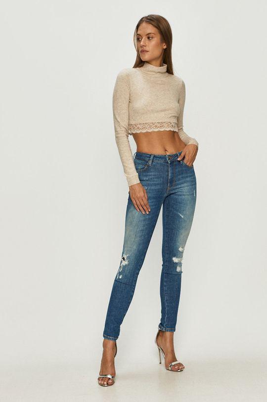 Guess Jeans - Sveter béžová