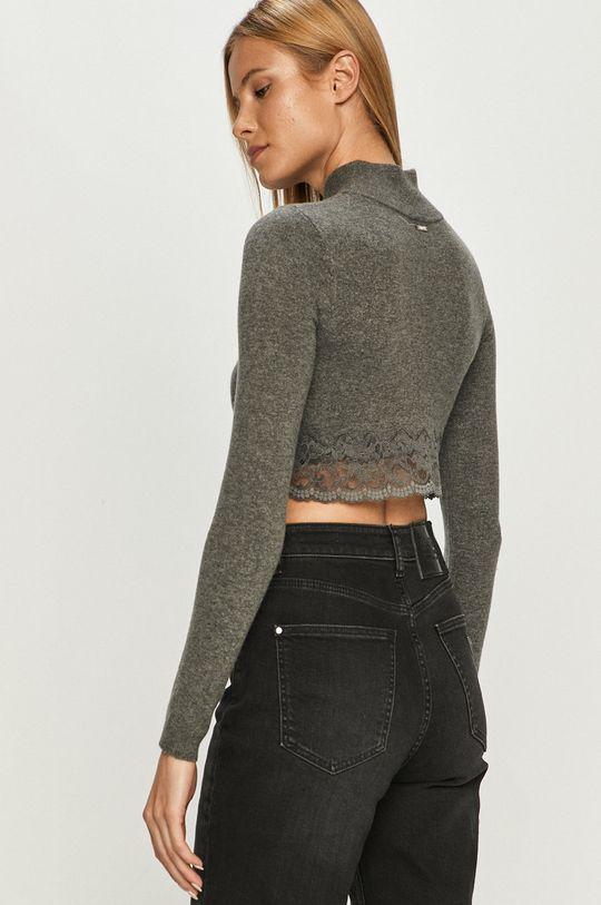 Guess Jeans - Свитер  22% Акрил, 18% Хлопок, 50% Полиамид, 5% Спандекс, 5% Шерсть
