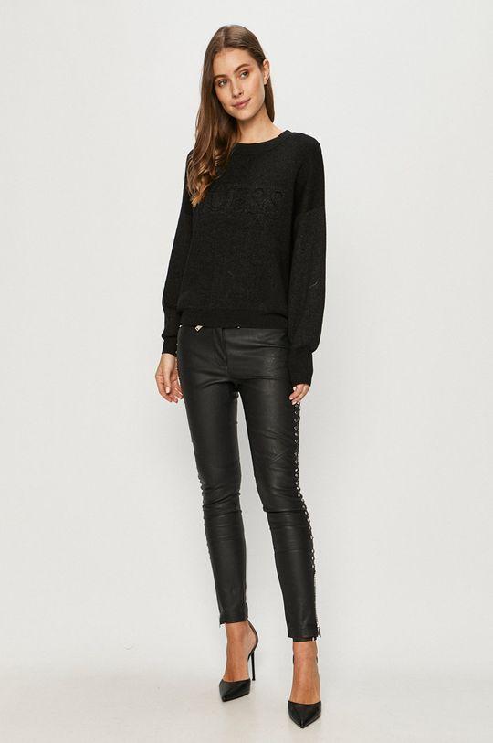 Guess Jeans - Svetr černá