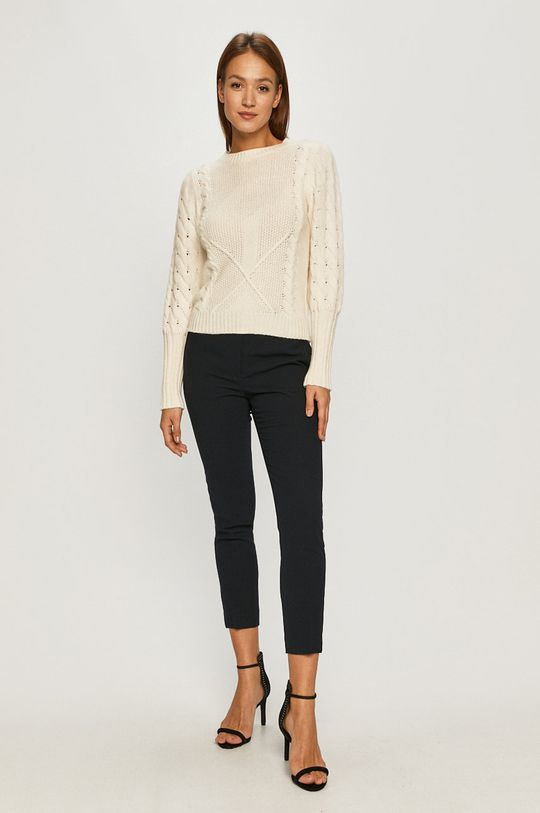 Guess Jeans - Pulover crem
