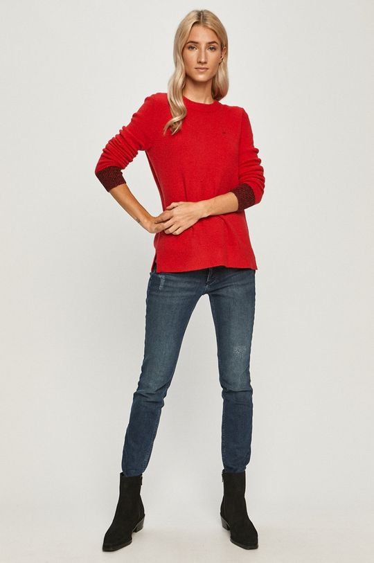 Calvin Klein - Pulover rosu