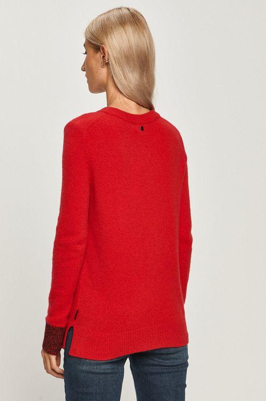 Calvin Klein - Pulover  3% Elastan, 38% Poliamida, 49% Lana, 10% Lana Yaka