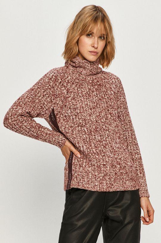fiołkowo różowy Calvin Klein - Sweter Damski
