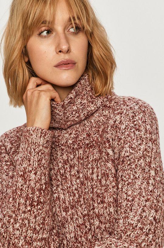 fiołkowo różowy Calvin Klein - Sweter