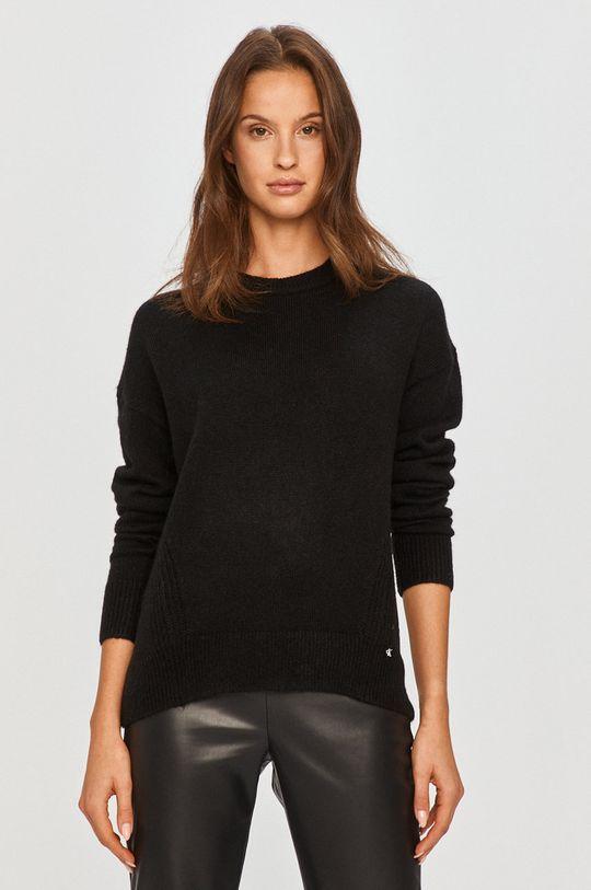 czarny Calvin Klein Jeans - Sweter Damski