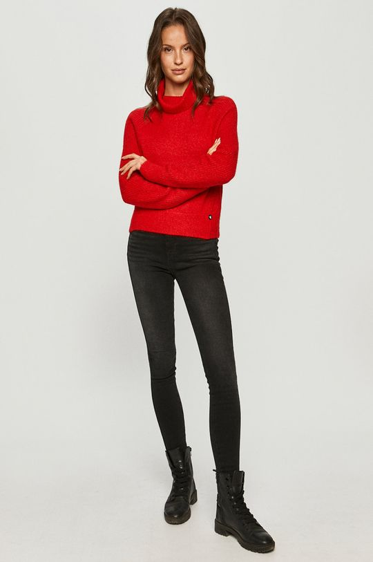 Calvin Klein Jeans - Pulover rosu