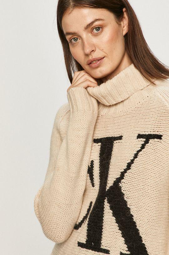smetanová Calvin Klein Jeans - Svetr