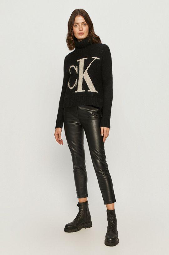 Calvin Klein Jeans - Sweter czarny