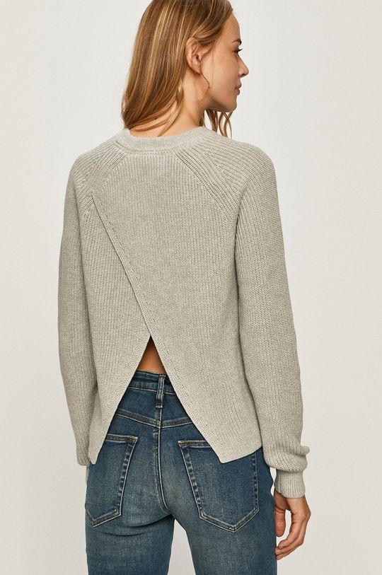 svetlosivá Calvin Klein Jeans - Sveter Dámsky