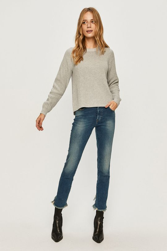 Calvin Klein Jeans - Sveter svetlosivá