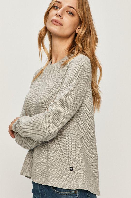 svetlosivá Calvin Klein Jeans - Sveter
