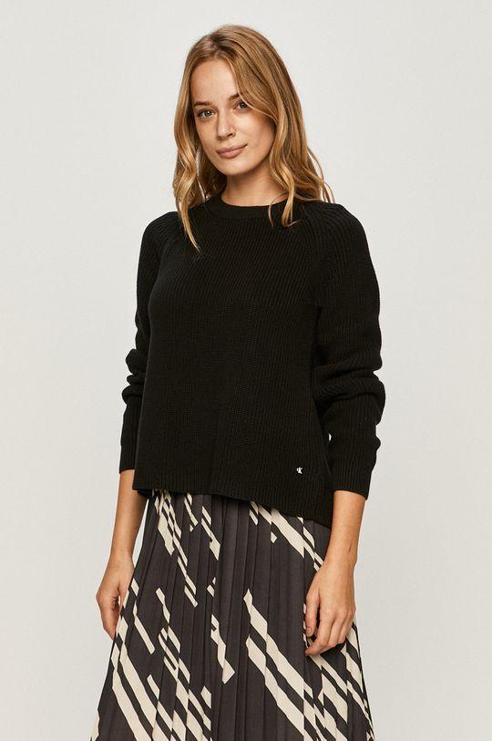 negru Calvin Klein Jeans - Pulover