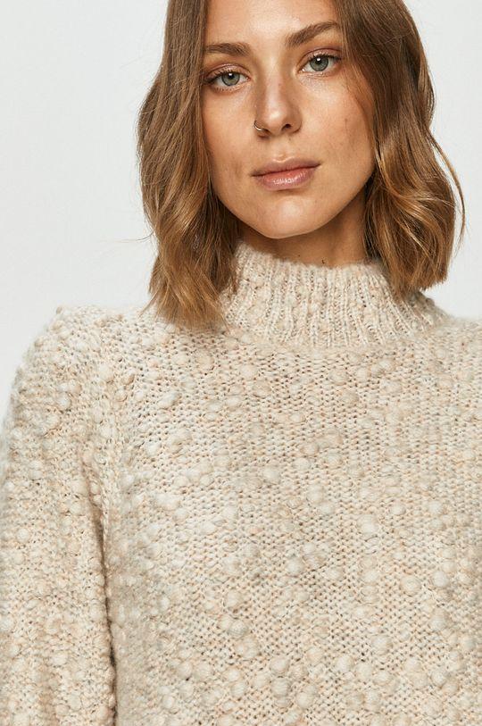 kremowy Vero Moda - Sweter