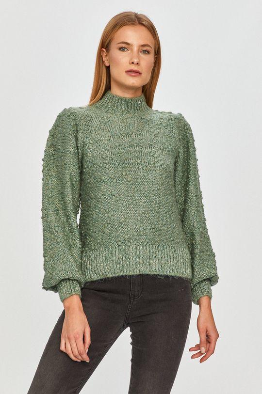 zielony Vero Moda - Sweter Damski