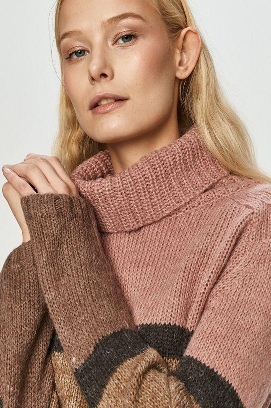 ružovofialová Jacqueline de Yong - Sveter